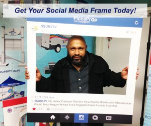Facebook and Instagram Top Class Signs and Printing Social Media Frame
