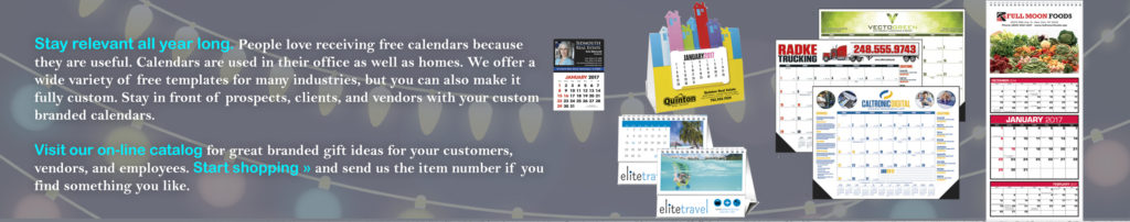 Top Class Signs and Printing calendars