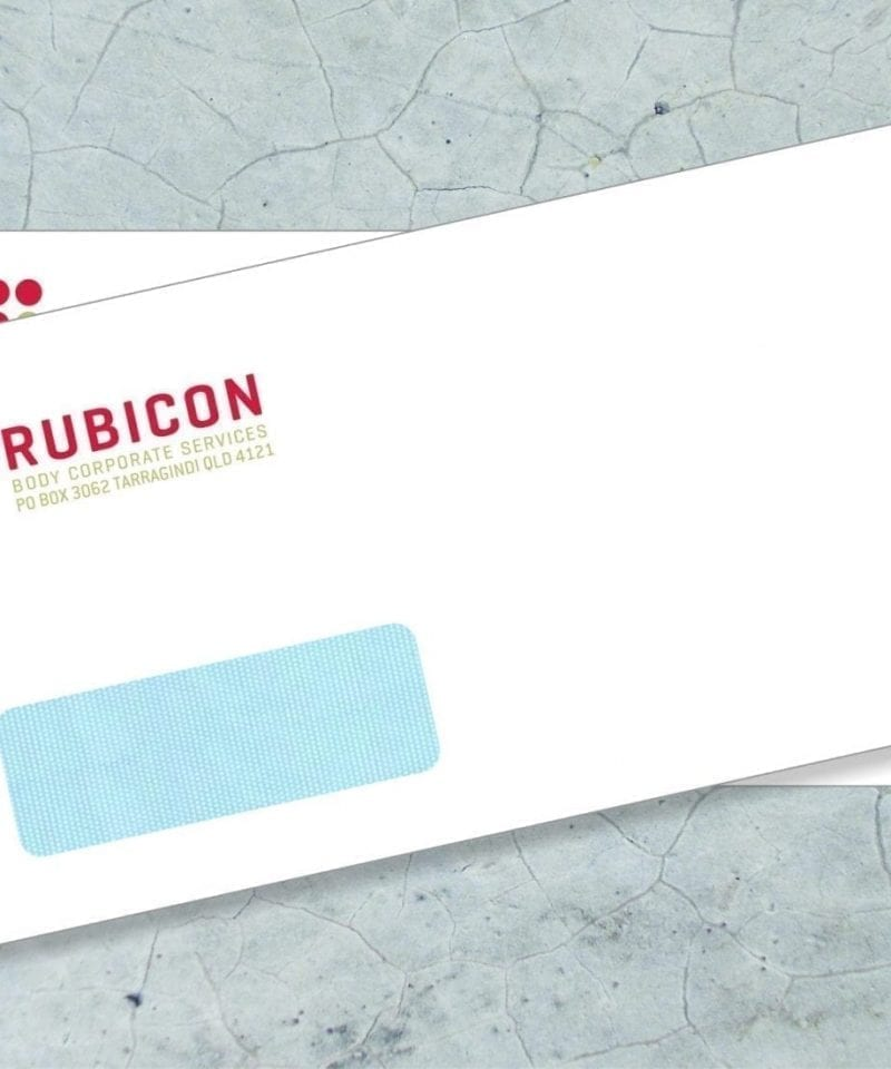full color window envelope