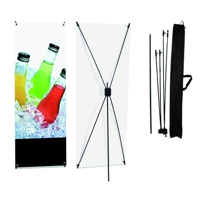 Cheap x-type banner stand