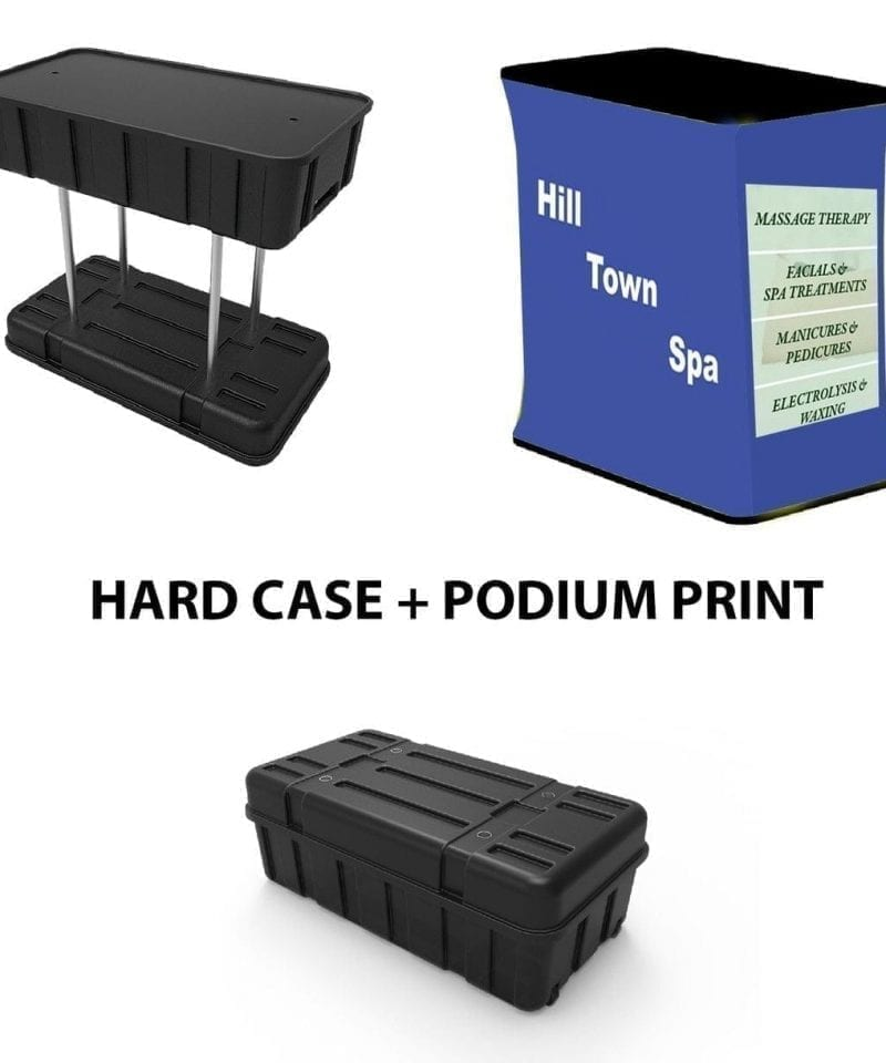 tension fabric popup shipping case