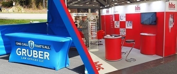 Trade show displays and banner stands can make your next trade show a success or a barron booth with no visits.