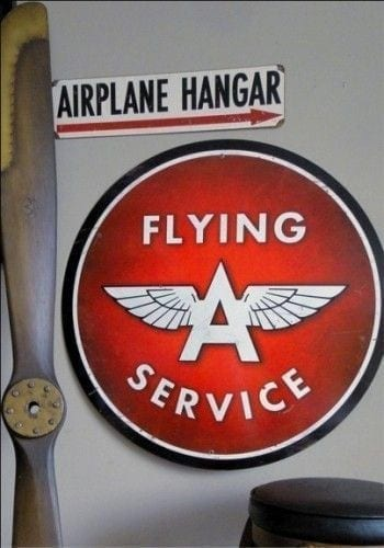 signs for aviation industry