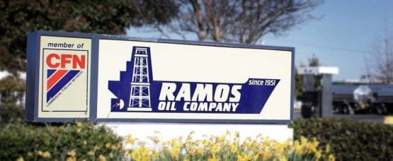 signs for oil and gas companies