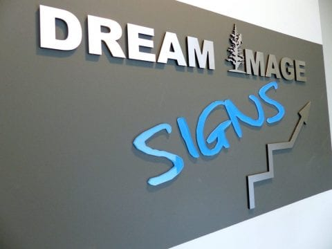 Homestead 3D office sign
