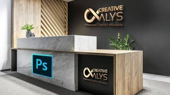 Palm Springs 3D office sign