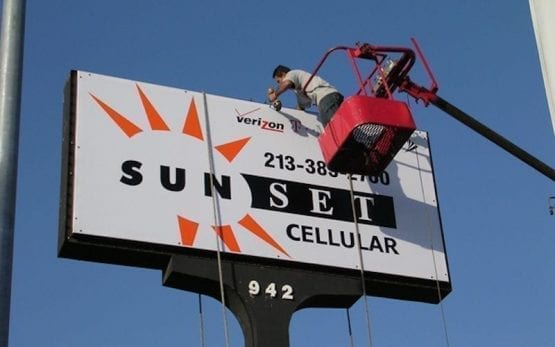 Signs company in South Beach