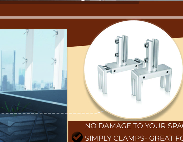 sneeze guard clamps for cubicles